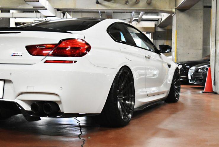 BMW M6 KW アクラポヴィッチ ヴォルシュタイナー エアロ