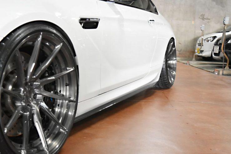 BMW エアロ M6 ADV.1 アメ鍛 21インチ ミシュラン