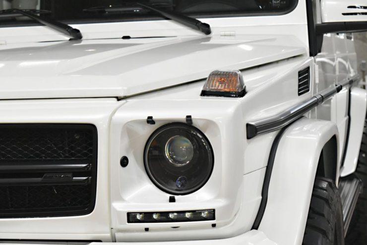 ブラバス ゲレンデ ブラックアウト リフトアップ 1221ホイール アメ鍛 オーダーホイール ADV.1