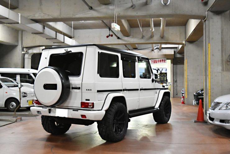 G63 W463 ゲレンデ Gクラス ブラックアウト カスタム タイヤ グラバー 20インチ