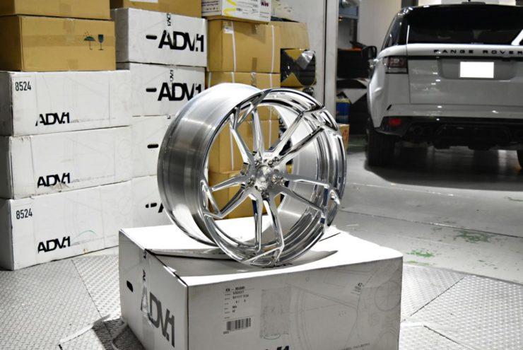 ADV.1 アメ鍛 22インチ W222 S63 後期 ロワリング