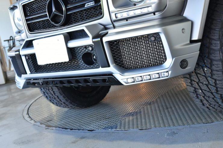 G63 ブラバス スポイラー エディション463 アンダーガード