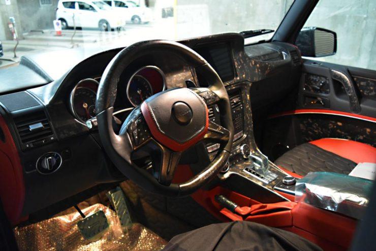 マンソリー Gクラス W463 G63 G350 電動ステップ カスタム ブラックアウト
