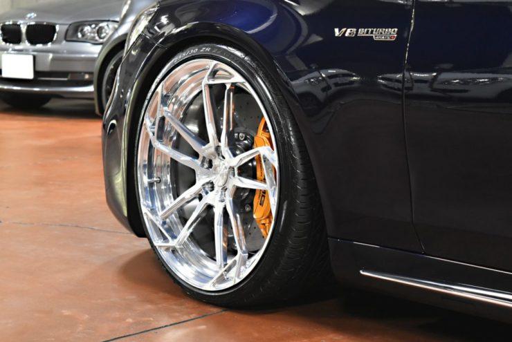 S63 ローダウン ロワリング エアサス アメ鍛