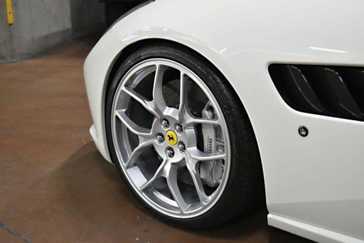 フェラーリ GTC4 ルッソ ノヴィテックロッソ ノビテックロッソ ノビテック ローダウン ダウンサス