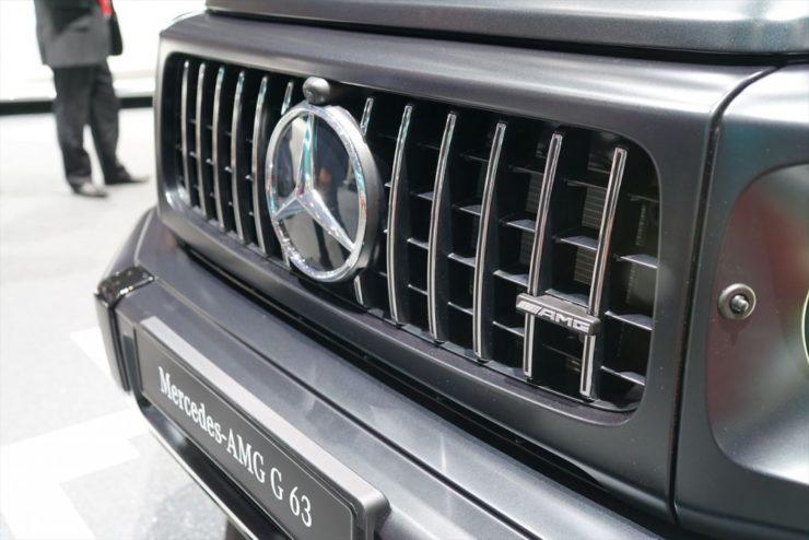 AMG 新型ゲレンデ Gクラス ブラックアウト エンブレムペイント