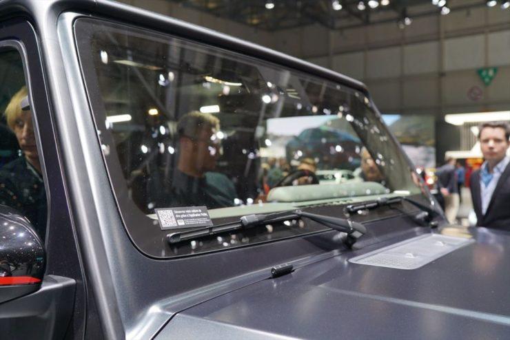 新型ゲレンデ Gクラス W463 W464 マットブラック