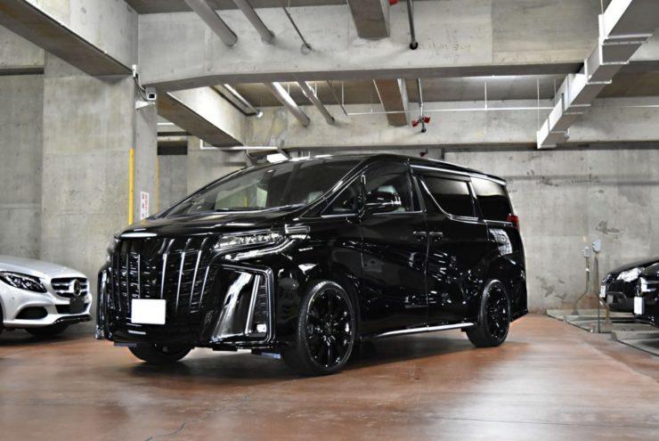 トヨタ アルファード 新型アルファード ブラックアウト