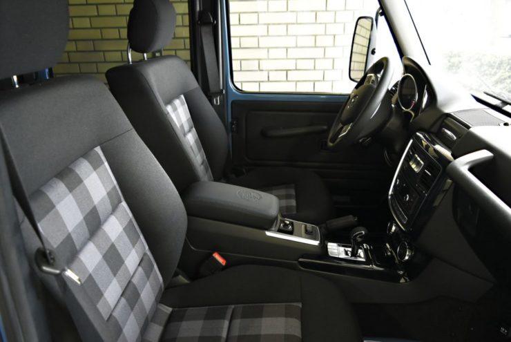 W463 ゲレンデ G350 ブラックアウト エンブレムペイント