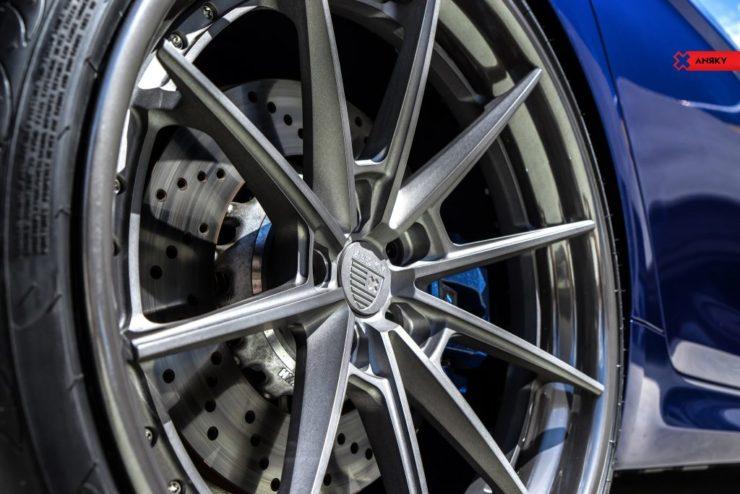 BMW F90M5 マフラー カプリスト ローダウン 車高調