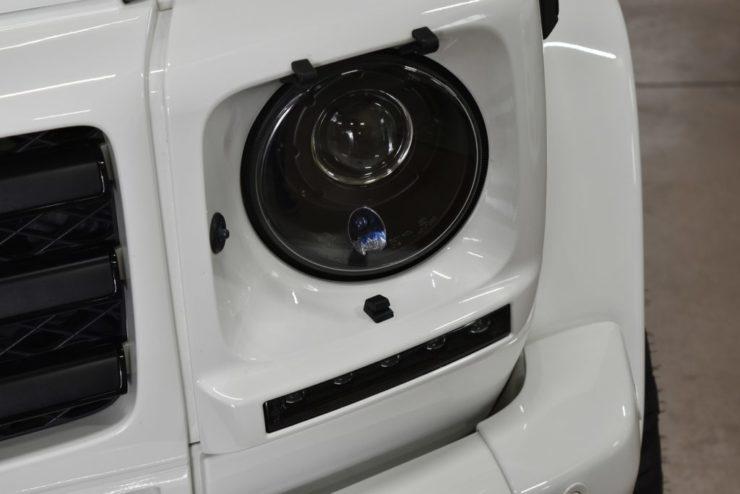 ゲレンデ インナーブラックヘッドライト