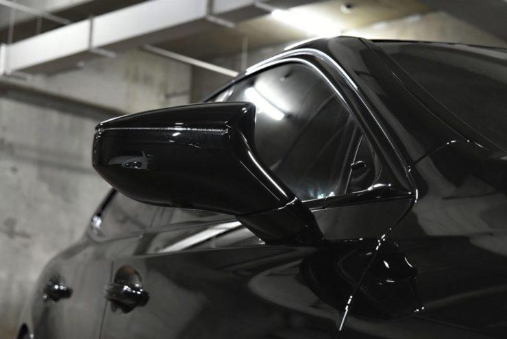 レクサス LS ブラックアウト ローダウン エアロ カーボン