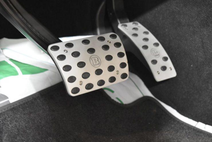 ブラバス ペダル AMG GLE カスタム ブラックアウト
