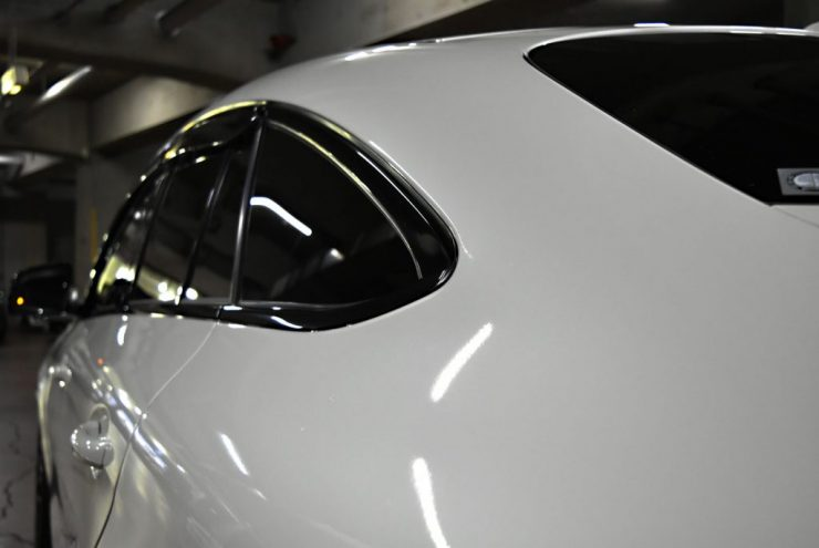 AMG GLE 窓枠 ブラックアウト ロワリング