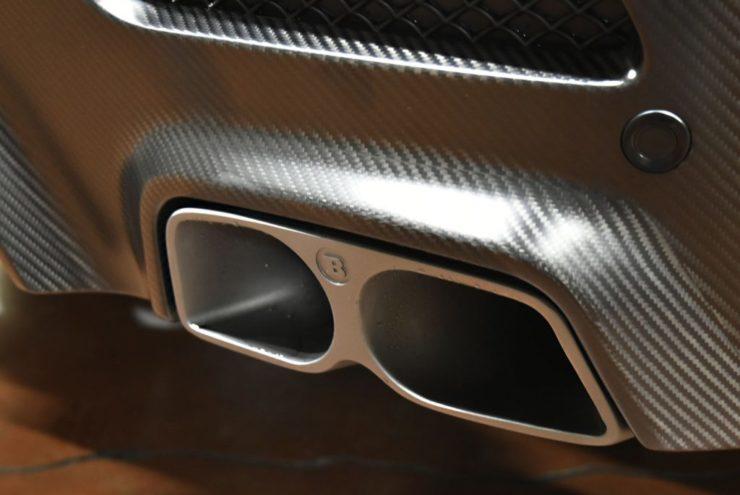 ブラバス マフラー AMG GLE バルブ付