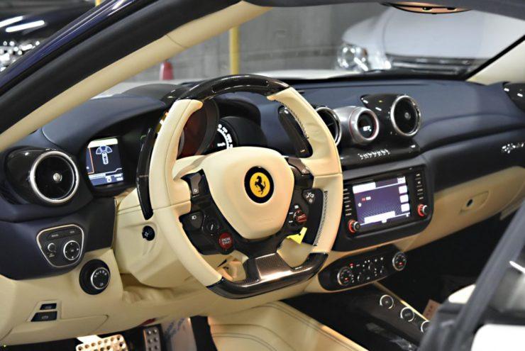 フェラーリ 内装コーティング カリフォルニアT ローダウン