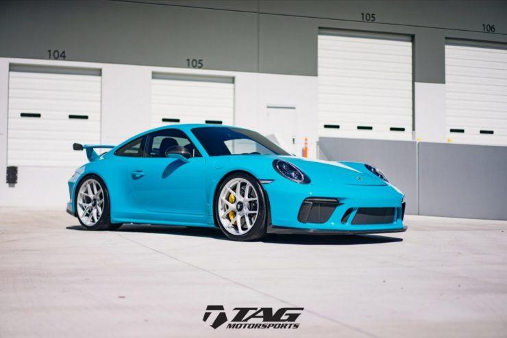 991 991.2 GT3 911GT3 HRE アメ鍛