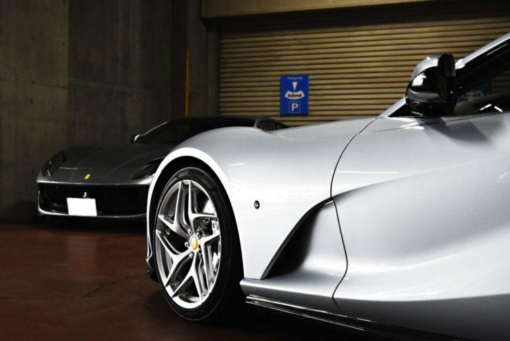 フェラーリ 812 ローダウン プロテクションフィルム ローダウン