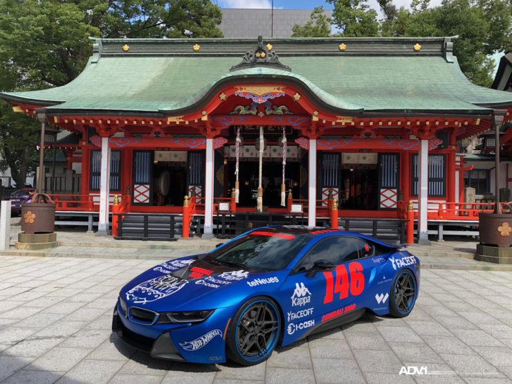 ADV.1 BMW i8 ガムボール3000 東京