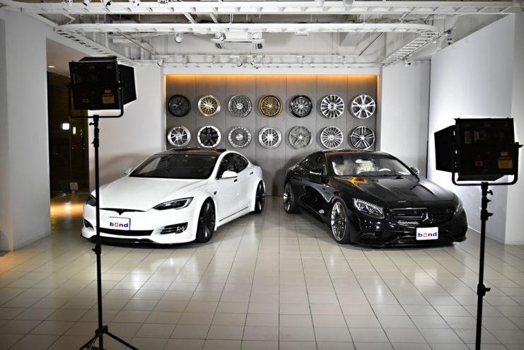 BCフォージド テスラ モデルS AMG S65クーペ ブラックアウト