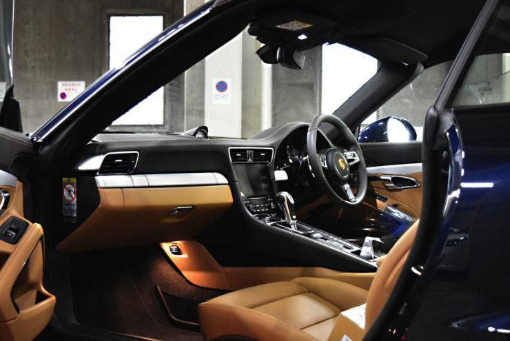 ポルシェ 991.2 ターボ ターボS 内装パネル シフトノブ
