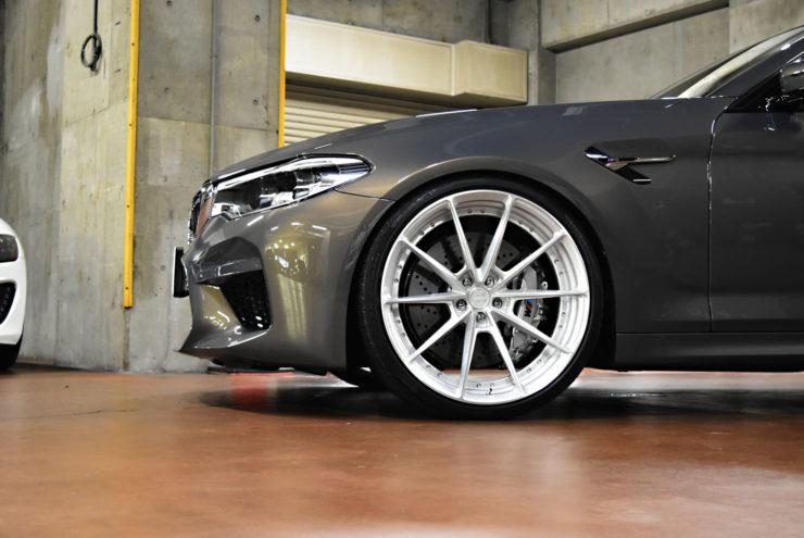 BMW M5 HAS ローダウン ダウンサス 鍛造ホイール