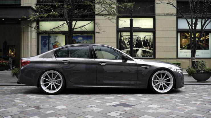 BMW M5 F90 カプリスト マフラー ローダウン ダウンサス 22インチ 21インチ