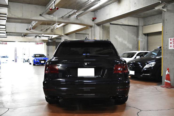 ベントレー ベンテイガ V12仕様 マフラーカッター ブラックアウト