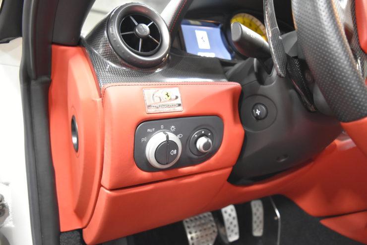 フェラーリ 内装修理 ベタベタ修理 F599 430 グラントゥーリズモ