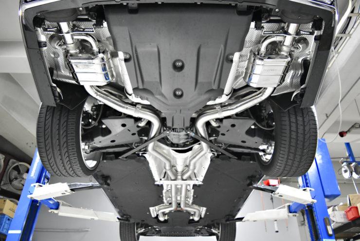 AMG S63 S63後期 W222 W222後期 マフラー カプリスト