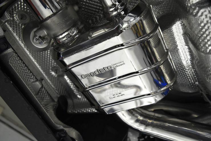 AMG S63後期 マフラー カプリスト バルブ付