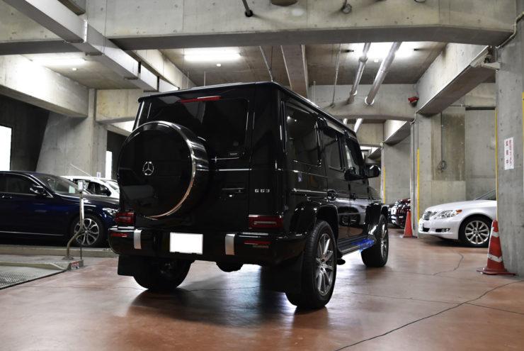 新型G63 ブラックアウト エディション1仕様 ブラックヘッドライト ゲレンデヴァーゲン