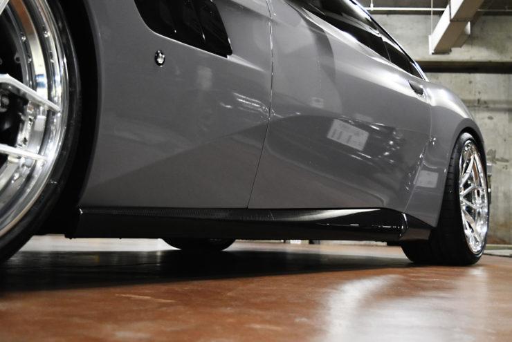 フェラーリ ノヴィテック GTC4 カーボンパーツ ダウンサス