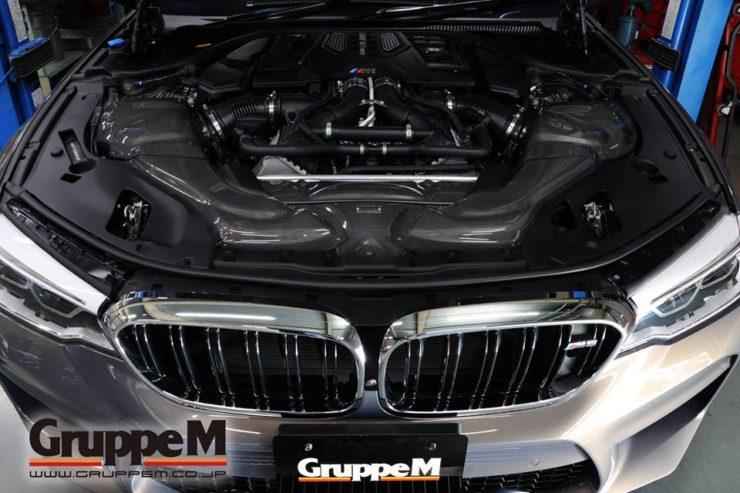 グループM クリーナー BMW M5 F90 アナーキー 22インチ