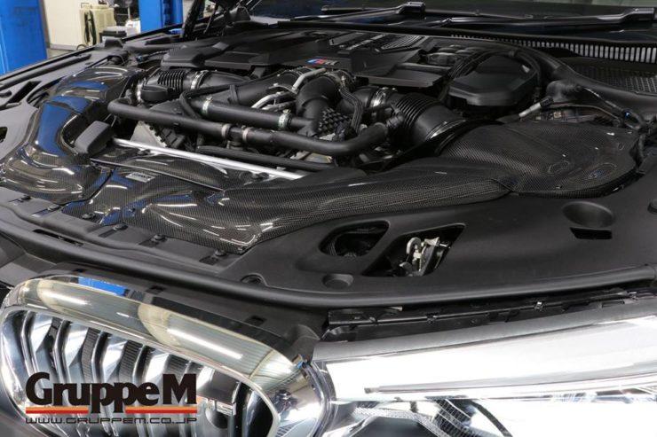 BMW M5 アナーキー KW HAS バージョン4 車高調 エアクリーナー