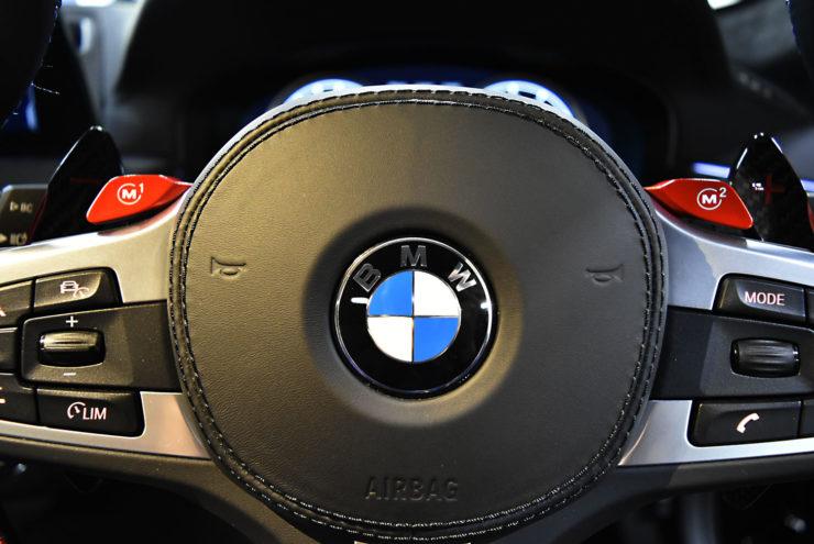 BMW M5 カーボンパドル ステアリング