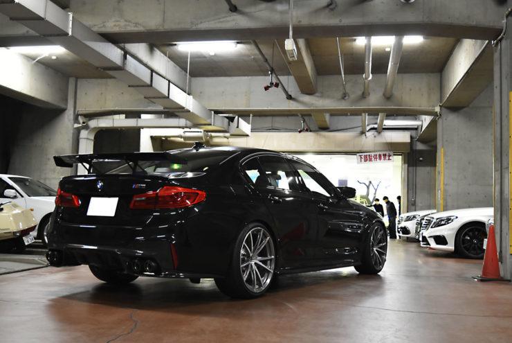 BMW F90 M5 カスタム エアロ ローダウン マフラー