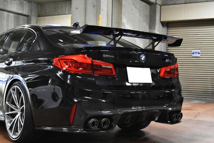 BMW F90 M5 3Dデザイン エアロ ローダウン 車高調