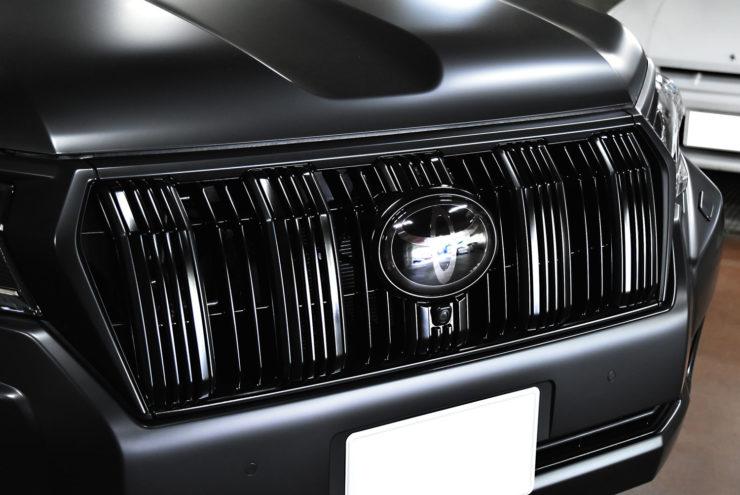 トヨタ ランクルプラド ホイール サテンブラック カスタム