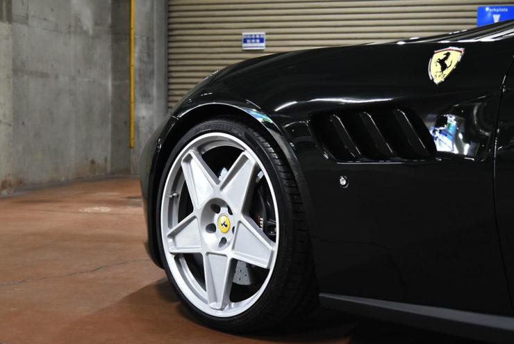 フェラーリ GTC4ルッソ ローダウン 車高調整 HRE アメ鍛 ハイパーフォージド ADV.1