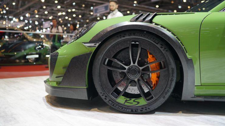 テックアート ポルシェ 911 991.2 ターボS ローダウン マフラー チューニング カスタム