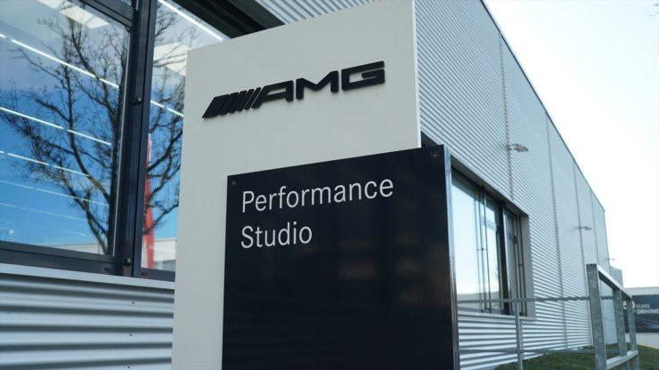 AMG AMGパフォーマンススタジオ ドイツ AMG本社 ベンツ