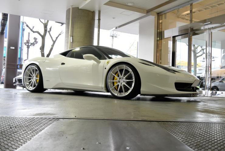 フェラーリ カスタム 458