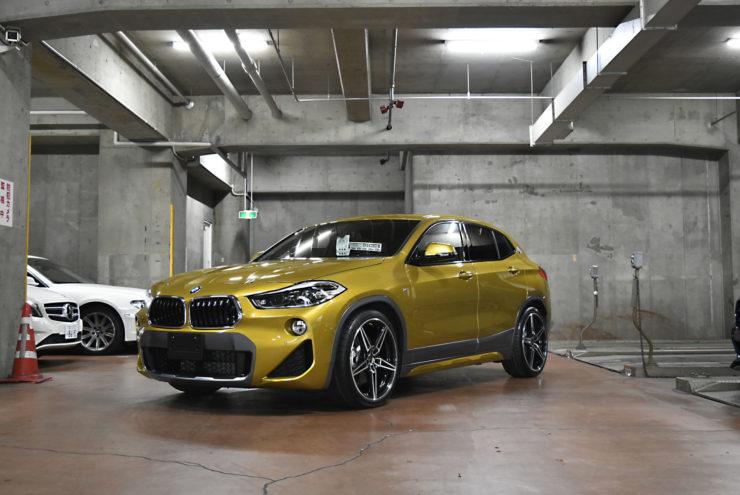 BMW X2 ローダウン カスタム ダウンサス