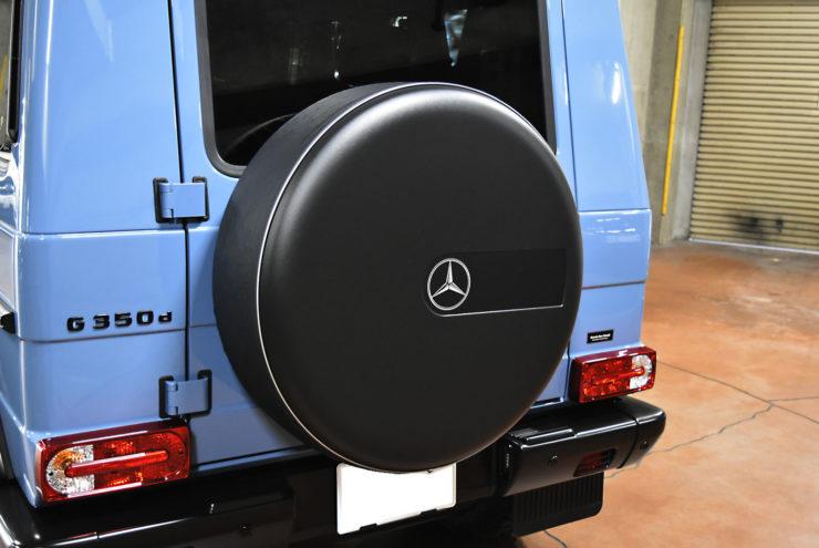 ベンツ Gクラス 背面タイヤ スムージング カバー