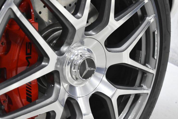 AMG G63 エディション1 ホイール ナイトパッケージ ブラックアウト