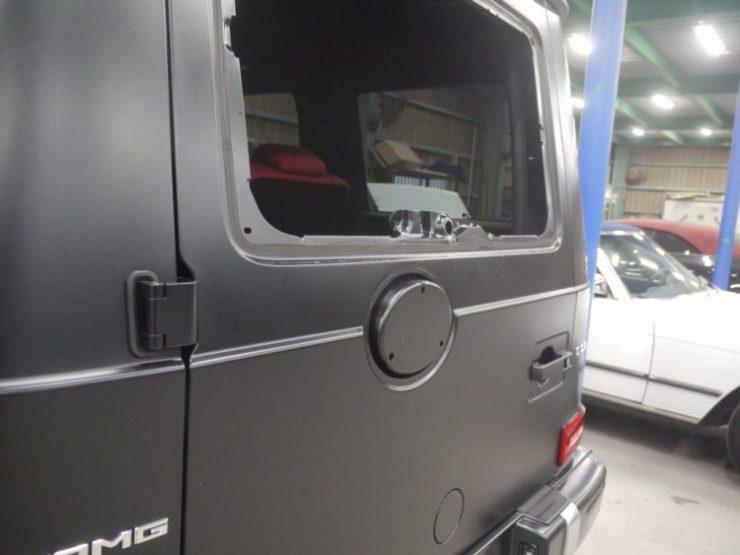 新型Gクラス G63 W463A W463 AMG スムージング ブラックアウト