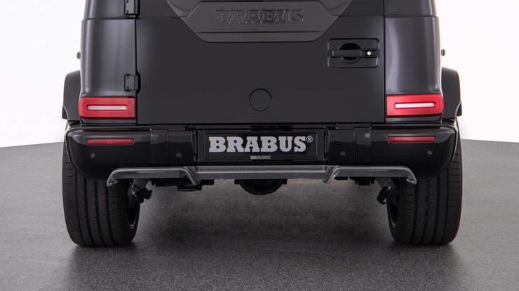 ブラバス リアディフューザー W463A 新型G63 G63 G350d