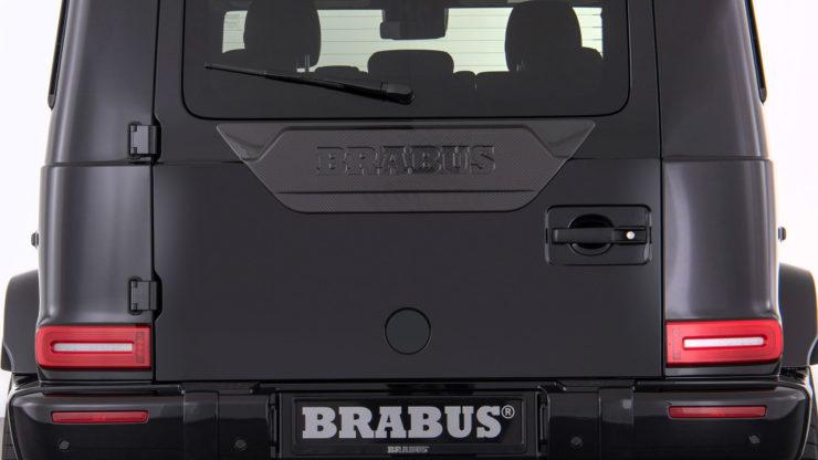 ブラバス 新型Gクラス エアロ カーボン カスタム ブラックアウト エディション1