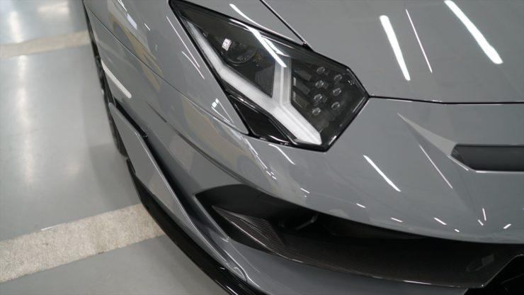 ランボルギーニ アヴェンタドール SVJ マフラー パワークラフト カプリスト